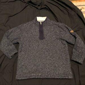 Orvis Orvis fleece lined sweater men's medium